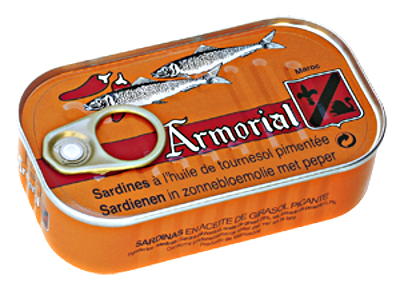 Armorial - Sardine à l'huile de tournesol