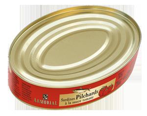 BELMA-Armorial-Sardines-Pilchards-tomates-OVALE-367g