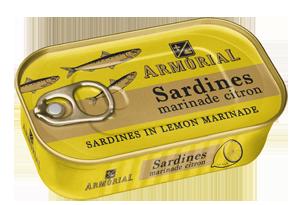 Armorial Sardines marinade citron