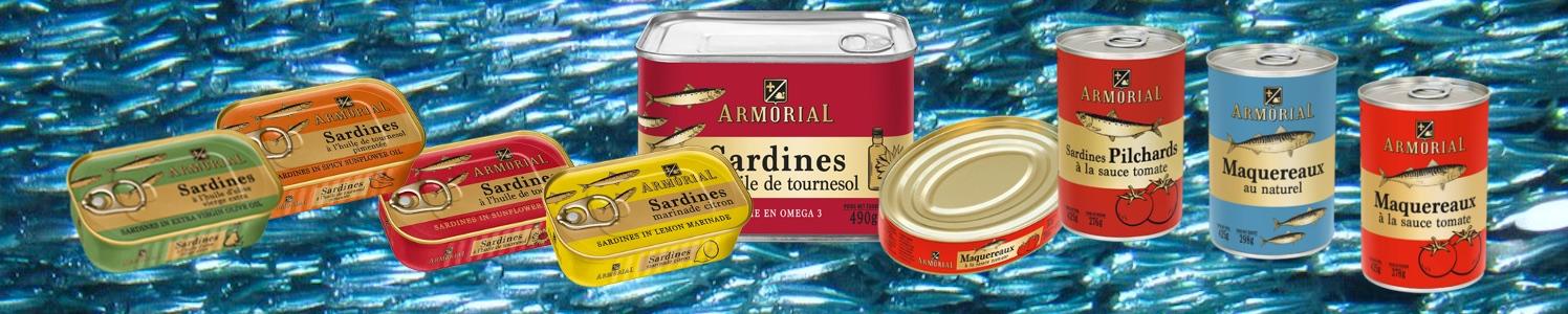 Marque Armorial by Conserverie de poissons Belma